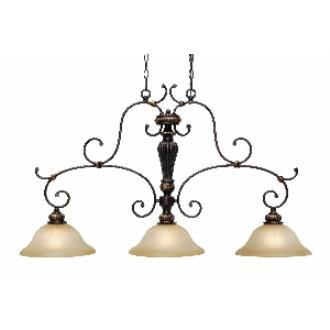 Golden Lighting 6029-10 EB Island Light