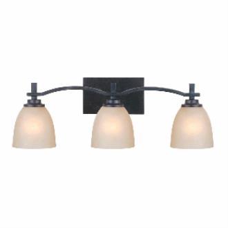 Golden Lighting 6262-BA3 DNI Hampden - Three Light Bath Bar