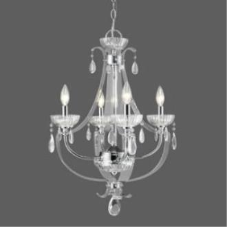 Golden Lighting 6530-4 CH Clarion - Four Light Nook Chandelier