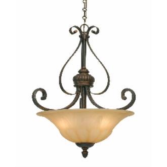 Golden Lighting 7116-3P LC Pendant Bowl