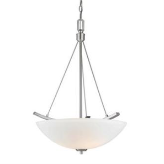 Golden Lighting 7158-3P Accurian - Three Light Bowl Pendant