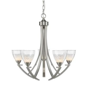 Golden Lighting 7509-5 PW Asteria - Five Light Chandelier