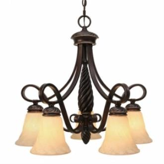 Golden Lighting 8106-D5 Torbellino - Five Light Nook Chandelier
