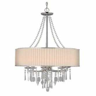 Golden Lighting 8981-5 BRI Echelon - Five Light Chandelier