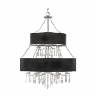 Golden Lighting 8981-9 GRM Echelon - Nine Light Chandelier