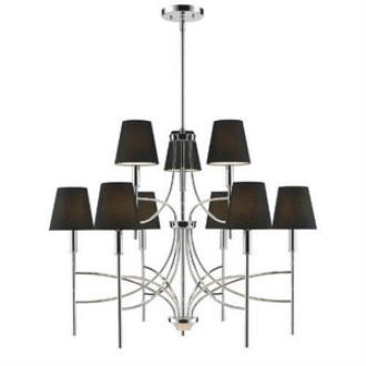 Golden Lighting 9106-9 Taylor - Nine Light Chandelier