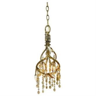 Golden Lighting 9903-M1L MG Autumn Twilight - Four Light Mini Pendant