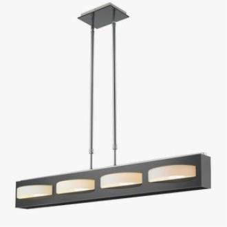Iberlamp C168-L4-CH Mara - Four Light Linear Pendant