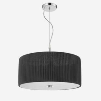 Iberlamp C177-03-CH-BK Solal - Three Light Pendant