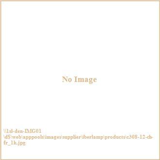 Iberlamp C308-12-CH-FR Kim - Twelve Light Pendant