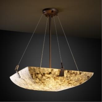 "Justice Design ALR-9644 36"" Bowl Pendant with Tapered Clips"