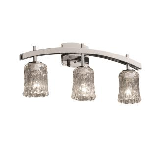 Justice Design GLA-8593 Archway Three Light Bath Bar