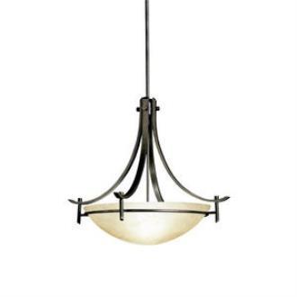 Kichler Lighting 3278OZ Olympia - Three Light Inverted Pendant