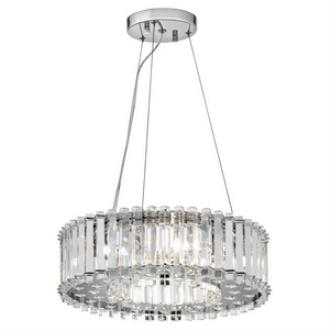 Kichler Lighting 42194CH Crystal Skye - Six Light Pendant
