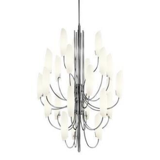 Kichler Lighting 42214CH Stella - Twenty Four Light Five Tier Chandelier