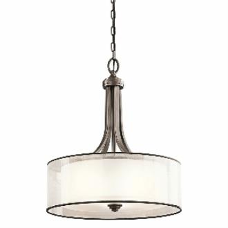 Kichler Lighting 42385MIZ Lacey - Four Light Inverted Pendant