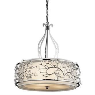 Kichler Lighting 42391CH Jardine - Three Light Pendant