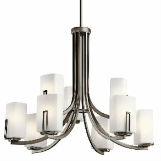 Kichler Lighting 42428SWZ Leeds - Nine Light Chandelier
