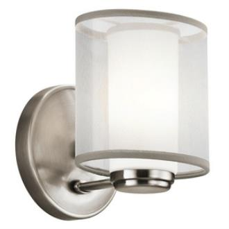 Kichler Lighting 42924CLP Saldana - One Light Wall Sconce