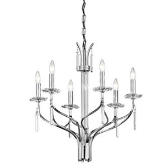 Kichler Lighting 42927CH Aliso - Six Light Chandelier