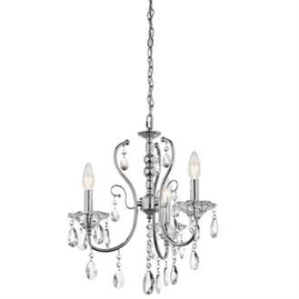 Kichler Lighting 43120CH Jules - Three Light Chandelier