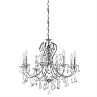 Kichler Lighting 43122CH Jules - Eight Light Chandelier