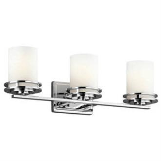 Kichler Lighting 5078CH Hendrik - Three Light Bath Bar