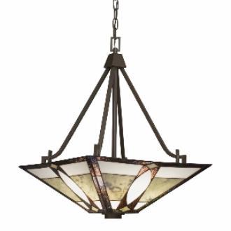 Kichler Lighting 65322 Denman - Three Light Inverted Bowl Pendant