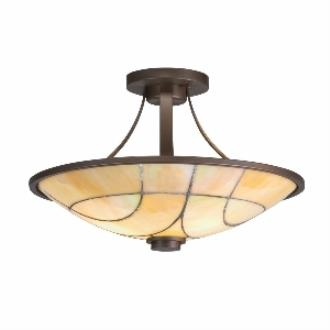 Kichler Lighting 69125 Spyro - Two Light Semi-Flush Mount