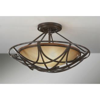 Feiss SF286MBZ El Nido - Two Light Semi-Flush Mount