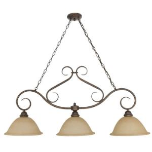 Castillo - Three Light Island Chandelier
