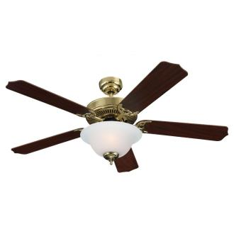 "Sea Gull Lighting 15030BLE-02 Quality Max Plus - 52"" Fluorescent Ceiling Fan"
