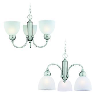 Sea Gull Lighting 31035-962 Three-light Metropolis Chandelier
