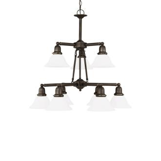 Sea Gull Lighting 31062-782 Nine-light Sussex Chandelier