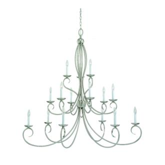 Sea Gull Lighting 31076-962 Fifteen-Light Pemberton Chandelier