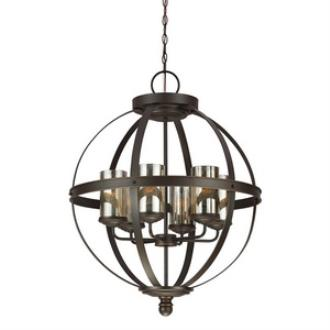 Sea Gull Lighting 3110406BLE-715 Sfera - Six Light Chandelier