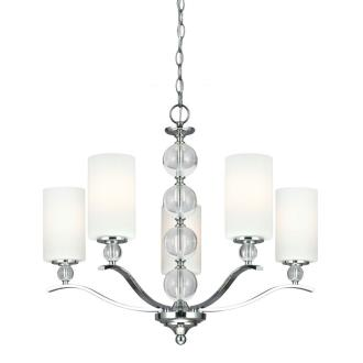 Sea Gull Lighting 3113405BLE-05 Englehorn - Five Light Chandelier