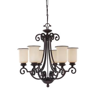 Sea Gull Lighting 31146-814 Six-Light Acadia Chandelier