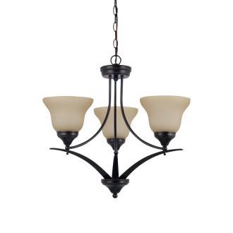 Sea Gull Lighting 31173-710 Brockton - Three Light Chandelier