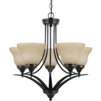 Sea Gull Lighting 31174-710 Brockton - Five Light Chandelier
