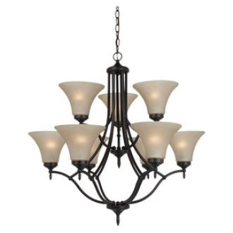 Sea Gull Lighting 31182-710 Montreal - Nine Light Chandelier