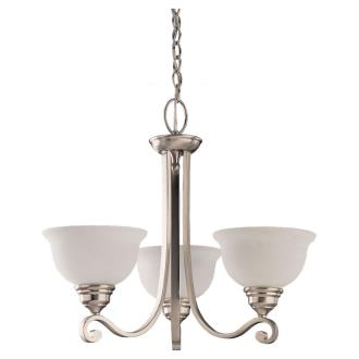 Sea Gull Lighting 31190-962 Three-Light Serenity Chandelier