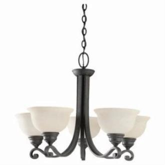 Sea Gull Lighting 31191-07 Five-Light Serenity Chandelier