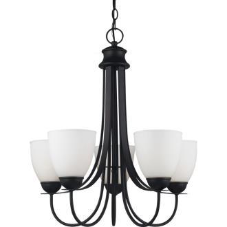 Sea Gull Lighting 31271BLE-839 Uptown - Five Light Chandelier
