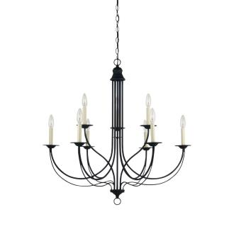 Sea Gull Lighting 31295-839 Plymouth - Nine Light 2-Tier Chandelier