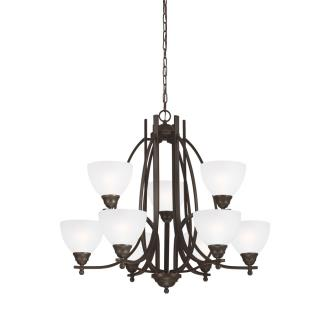 Sea Gull Lighting 3131409-715 Vitelli - Nine Light Chandelier
