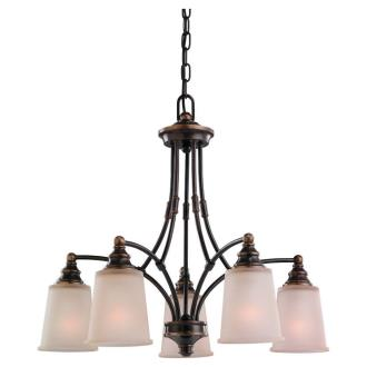 Sea Gull Lighting 31333-825 Five-Light Warwick Chandelier