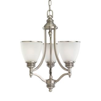 Sea Gull Lighting 31349-965 Three Light Antique Brushed Nickel Chandelier