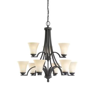 Sea Gull Lighting 31377BLE-839 Somerton - Nine Light 2-Tier Chandelier