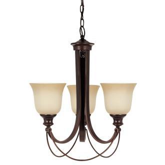 Sea Gull Lighting 31496BLE-710 Park West - Three Light Chandelier